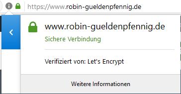 SSL über Let's Encrypt
